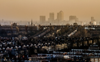 A view from Alexandra Palace