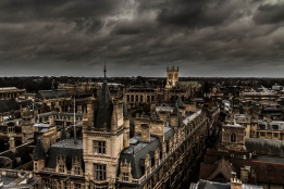 A stormy day in Cambridge