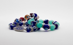 Exquisite semi-precious stone bracelets, Elements Feng Shui Stores, Dubai